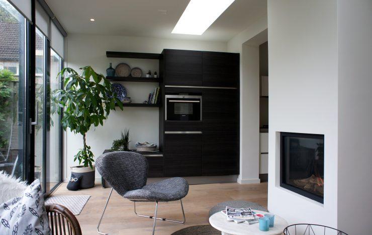 Keuken Uitbouw Design : Gezellig wonen rondom de keuken raw architectuurstudio